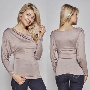 Tops - COCOA LONG-SLEEVE TOP